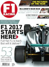 F1 Racing FEBRUARY 2017 - XMAS STAR T ISSUE